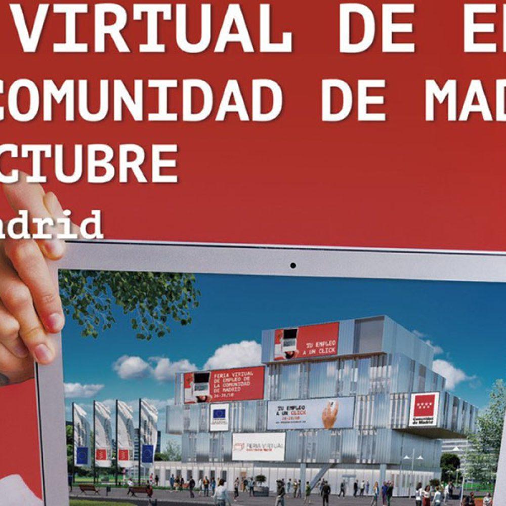 II Feria Virtual de Empleo de la Comunidad de Madrid